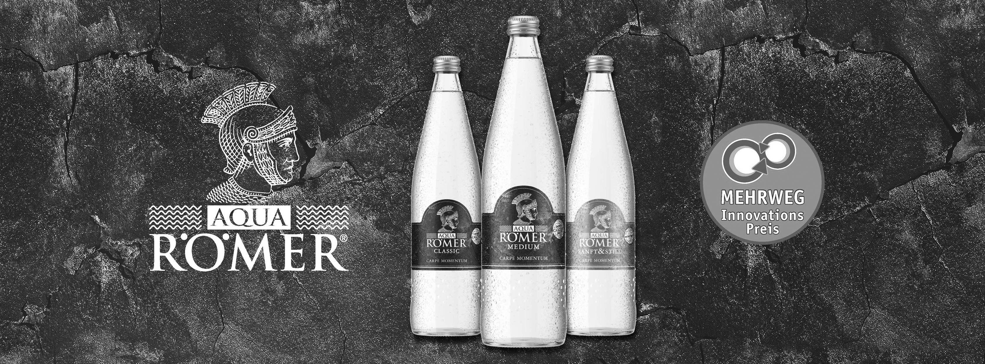Aqua Römer Wasserflaschen