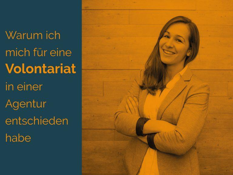 Katharina Pfau zum Volontariat