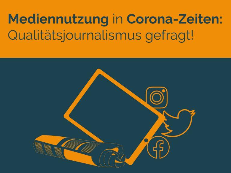 Mediennutzung in Corona Zeiten
