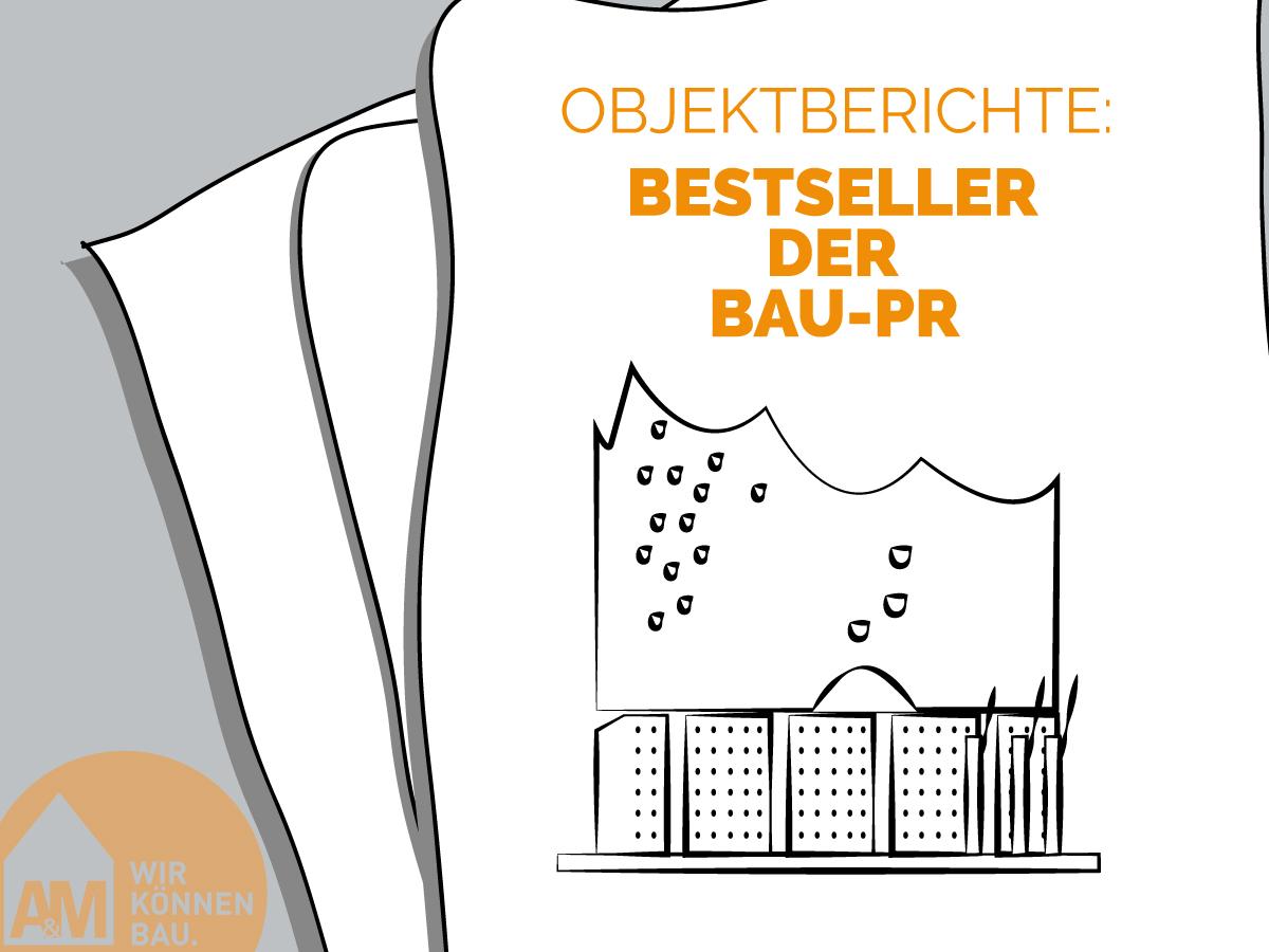 Objektberichte: Bestseller der Bau-PR