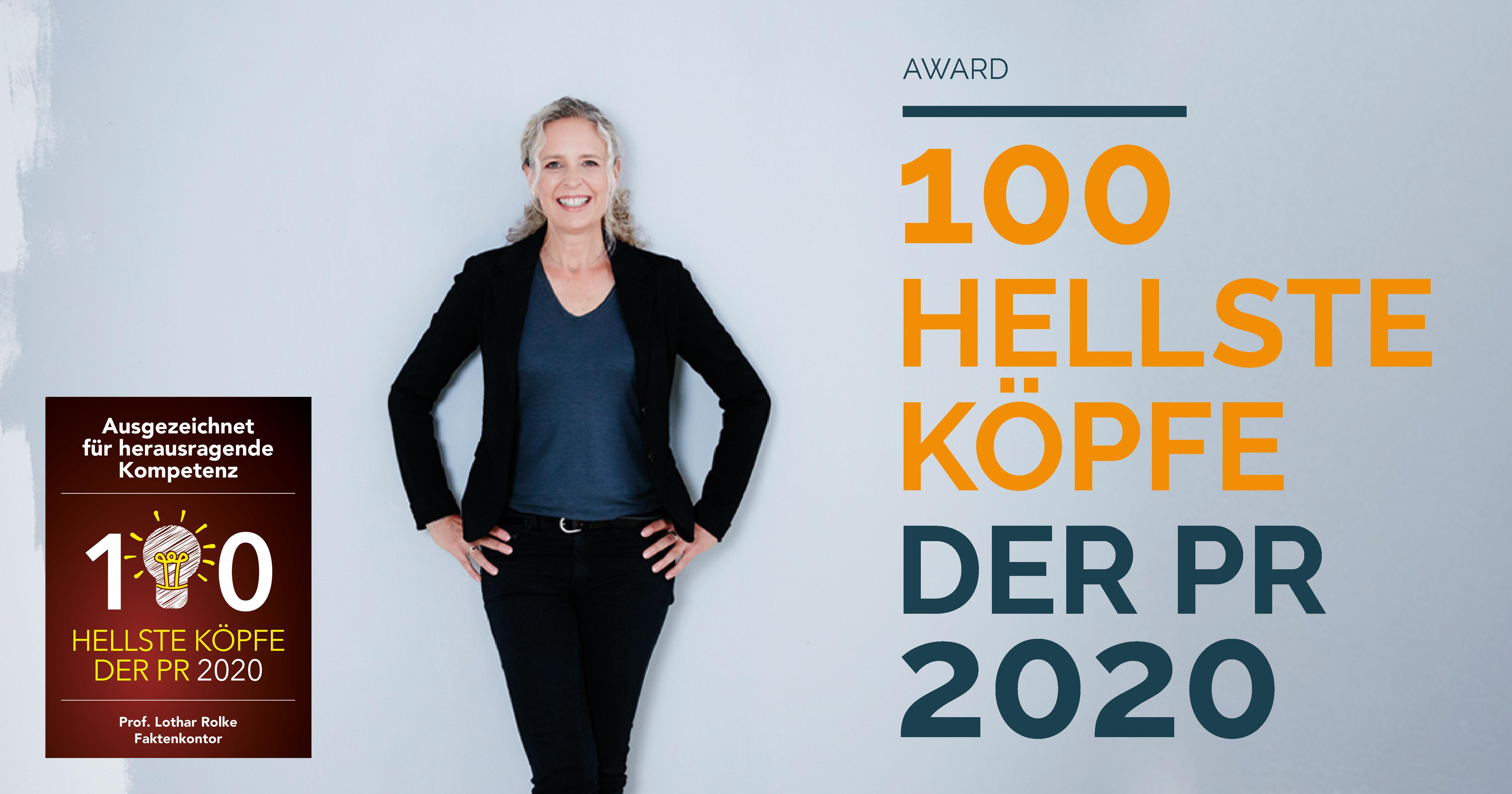Hellste Köpfe der PR 2020: Katrin Möllers